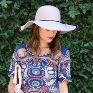 Felt hat by BP from Nordstrom
